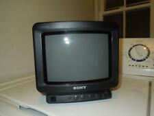 "Sony Trinitron KV-8AD10 8"" CRT Color TV Retro Gaming Monitor Television"