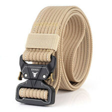 """1.5"""" Military Nylon Web Belt Outdoor Military Trainning Heavy Duty Riggers Belts"""