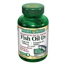 Nature's Bounty Fish Oil + D3