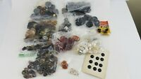 Vintage 2 Pound Lot Old Vintage Buttons Crafts Sewing Asst Sizes K2