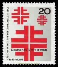 EBS West Berlin 1968 German Gymnastics Festival Berlin Michel 321 MNH**