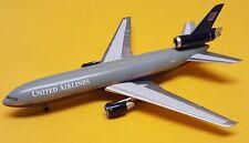 Aeroclassics 1:400 United Airlines DC-10-30 Battleship Livery N1855U New Rare