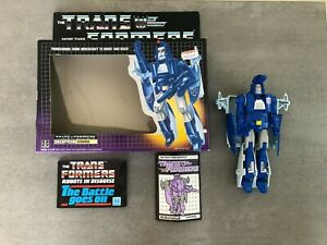 Vintage Transformers G1 Scourge Decepticon Boxed