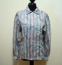 ALAIN FIGARET PARIS Camicia Donna Blusa Cotton Woman Shirt Sz.S - 42