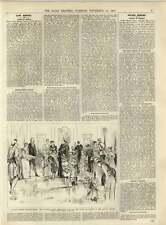 Condado de Lincoln 1891 Asamblea habitaciones juveniles elaborado vestido baile