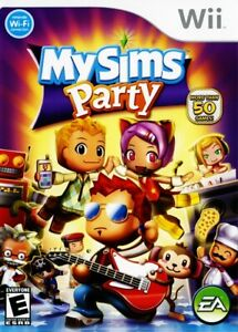 My Sims Party (Nintendo Wii, 2009) *NEW SEALED*