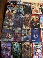🔥Lot Of 50 Retro Comic Books(🔥Read Description👀)Each Comic Is 4$ A Book
