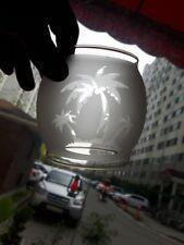 Palm tree etching glass globe for Coleman 200A Lantern ,  lamp , lamterns