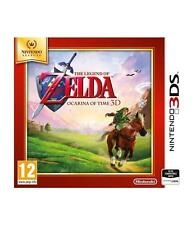 Zelda Ocarina of Time 3D Nintendo 3DS PAL version