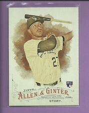 Trevor Story RC 2016 Topps Allen & Ginter ROOKIE Card # 12 Colorado Rockies