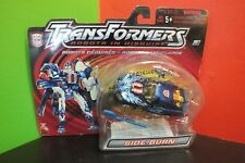 TRANSFORMERS Side Burn Robots In Disguise Speedy Knight SIGNED by WALLY WINGERT