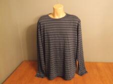 New Mens Size XXL John Bartlett Consensus Black Casual T Shirt Long Sleeve
