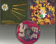 YUM YUM Apiary 2TRX RARE REMIX & EDIT PROMO DJ CD single USA w/ PRINTED L`YRICS