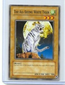 THE ALL SEEING WHITE TIGER PSV-093 YUGIOH 1996