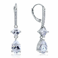 3 ct taille princesse diamant Synthétique 925 argent sterling