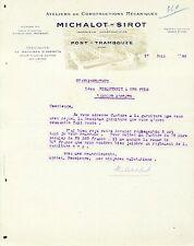 Dépt 69 - Pont Trambouze - Ateliers Constructions Mécaniques de Laineuses - 1930