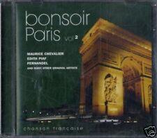 AA.VV.BONSOIR PARIS chanson française vol.2 CD Sealed