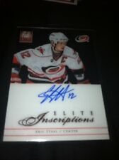 13 Totally Certified Eric Staal Rare Inscriptions Auto On Card Case Hit !!