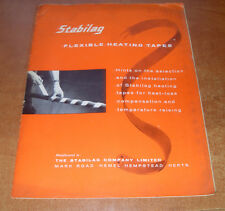 Stabilag Flexible Heating Tapes Brochure - Tatty