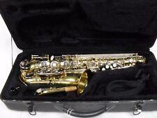 Alto Saxophone Wexler model 1058 serviced