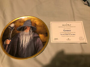 Wedgwood Lord Of The Rings Plate Gandalf