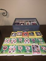 1980-1990 HUGE MLB Trading Baseball Card Lot Fleer Series Topps Upper Deck Score