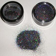 Cosmetic Holographic Eye Shadow Glitter ~ Compares to 3D Glitter- 10 gr. jar