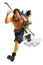 Banpresto One Piece Mania Produce Portgas D. Ace Collectible Figure Authentic!