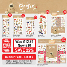 Boofle Stickers Bumper Pack