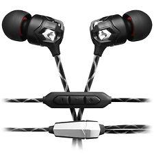 V-Moda Zn In-Ear-Hörer mit 3-Knopf-Mikrofonkabel schwarz