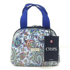 Chaps Hardshell Luggage Clamshell Carry-on Summer Paisley Beauty Case Bag $200