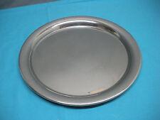 Vintage Cartier Polished Pewter Plate 11-inch Serving Platter