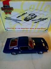 MATCHBOX COLLECTIBLES 1967 FORD MUSTANG FASTBACK BLUE 1/43 NIB DYGO1-M