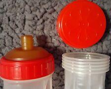 Vintage Latex Flat Top Nipple Playtex Nurser Slider drop-in's baby bottle Red