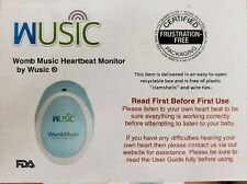 Wusic Womb Music Heartbeat Monitor Handheld Personal Fetal Doppler