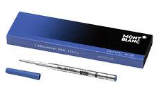 Kugelschreibermine Montblanc Grossraummine  Ballpoint Pen Refill blau M 105151