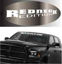 """Redneck Edition Cool Fun Windshield Decal 38"""""""
