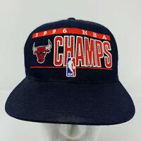 Chicago Bulls Sports Specialties Vintage Snapback Hat Cap 1996 NBA Champs
