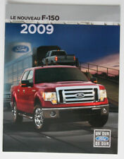 FORD F-150 2009 dealer brochure - French - Canada - ST2003000318