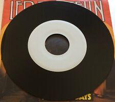 "LED ZEPPELIN The Ocean RARE 1973 GERMAN 7"" TEST PRESSING PROMO VINYL Mispress!"