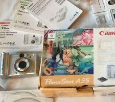 Canon PowerShot A95 Digital Camera  Silver. 5.0 Mega Pixel Zoom x3 RARE