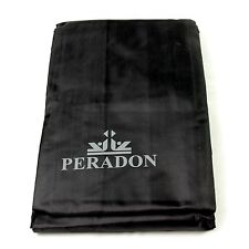 Fitted Black Peradon 12ft Snooker Table Dust Cover
