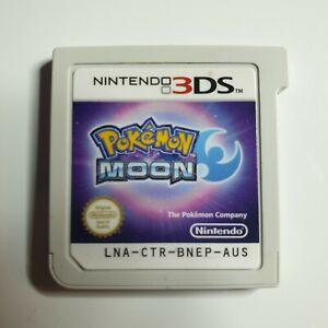 Pokémon Moon   Nintendo 3DS   Role-playing Video Game   2016   *Unoriginal Case*