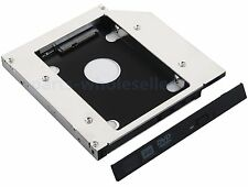 2nd HDD SSD SATA Hard Disk Drive Caddy for Dell Latitude E5400 E5420 E5500 E5520