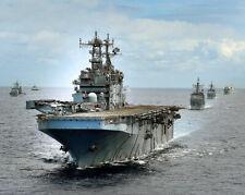 U.S. Navy Uss Peleliu At Rimpac 2014 11x14 Silver Halide Photo Print