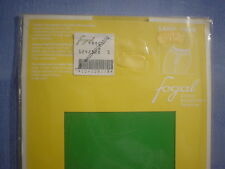 Fogal Style 124 Saint Trop Sheer to Waist Pantyhose Size Small in Frog