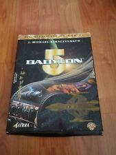 DIE OFFIZIELLE CD ROM ZU BABYLON 5 SIERRA  CD-ROM  + BOX -  BOXED - SELTEN