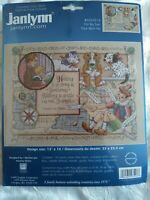 RARE Janlynn For My Son counted cross stitch kit Sandy Orton Sealed