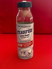 Steadifeed Baby Bottle with label, Nipple and cap (8oz) No chips or cracks