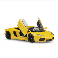 Welly 1:24 Lamborghini Aventador LP700-4 Diecast Model Racing Car Toy Yellow NIB